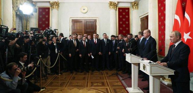 Moskova Zirvesi Sonuçlandı, UZLAŞTIK, ATEŞKES