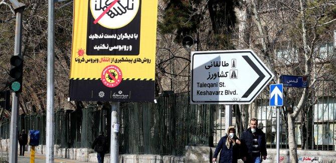 İran'da ölü sayısı yükseldi, 70 bin mahkuma izin verildi