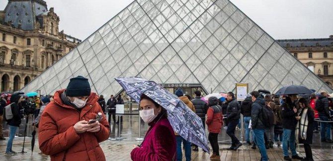 Fransa Virüsün Pençesinde, ölü sayısı artıyor