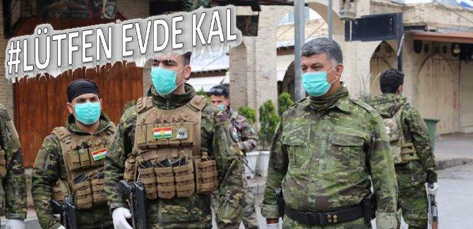 Kürdistan Bölgesi'nde sokağa çıkma 1 Nisan'a kadar yasağı uzatıldı