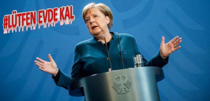 Almanya'da koronavirüs yasağı geldi, Merkel karantinada
