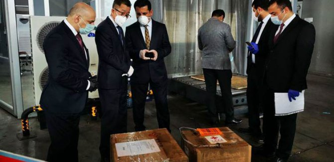 Çin'den Kürdistan Bölgesi'ne tıbbi destek