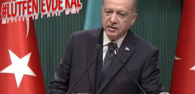 Erdoğan'dan Ulusa Sesleniş