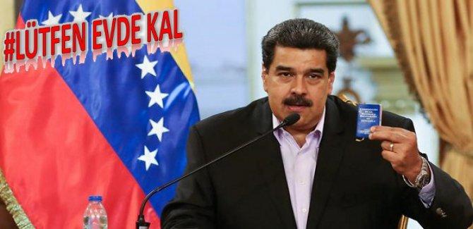 Maduro: ABD ve Kolombiya, Venezüella'ya komplo planları kuruyor