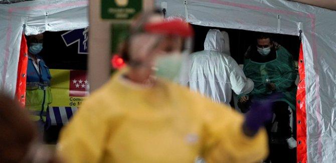 İspanya'da  koronavirüsten ölenlerin sayısı 4 bin 858'e yükseldi