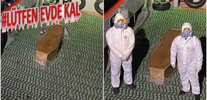 İstanbul'da kaptan koronavirüsten öldü, gemi karantinada