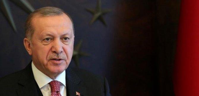 Cumhurbaşkanı Erdoğan Ulusa Sesleniş konuşması yapıyor