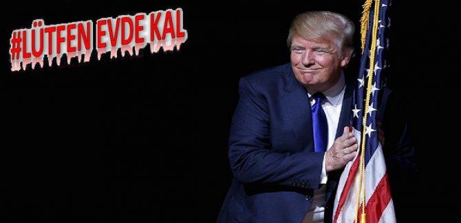 Trump: Tıbbi malzeme stokumuz bitmek üzere
