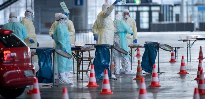 Almanya'da koronavirüsten ölenlerin sayısı 931 oldu