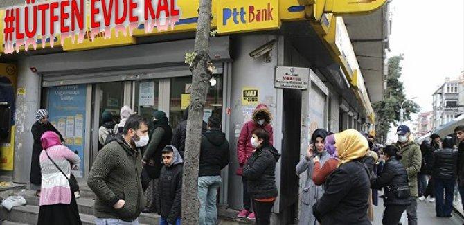 'PTT'ye gitmeyin' çağrısı: Sosyal yardımlar evlere gönderilecek