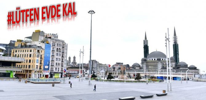 Türkiye'de 34.4 milyon kişi sokağa çıkması yasak