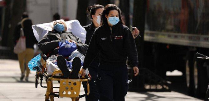 ABD'de koronavirüsten ölenlerin sayısı 8 bin 500'ü geçti
