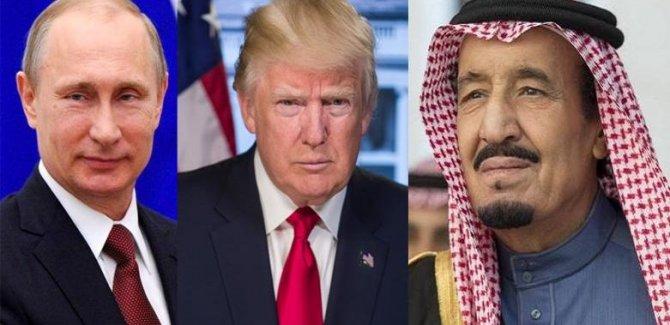 Trump, Putin ve Kral Selman'dan petrol görüşmesi