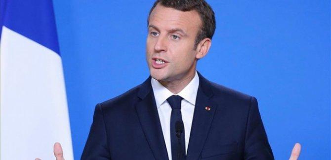 Macron'dan Çin'e COVID-19 suçlaması