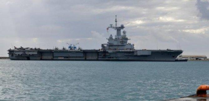 Fransız uçak gemisinde vaka sayısı bini aştı