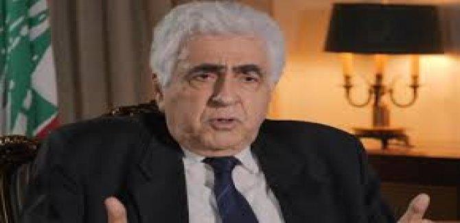 Lübnan Dışişleri Bakanı Nasif Hatti: İsrail ile savaş halindeyiz