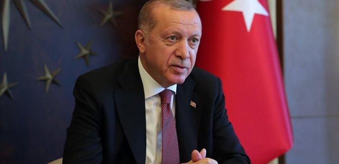 Erdoğan: Türkiye bu sarsıntılı dönemi geride bırakma safhasına gelmiştir