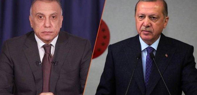 Cumhurbaşkanı Erdoğan'dan Irak Başbakanı Kazımi'yi tebrik mesajı
