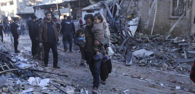 Volksstimme: Suriye kan ağlarken Batı seyirci kalıyor