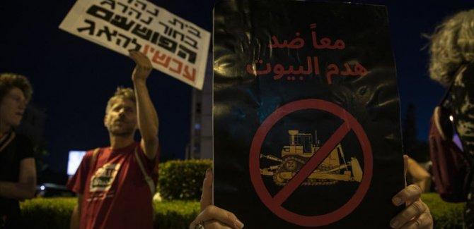 İsrailli aktivistlerden 'ilhak' karşıtı gösteri