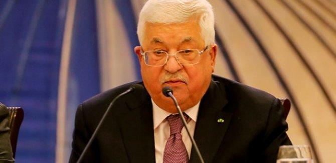 Mahmud Abbas:İsrail ve ABD ile yapılan anlaşmalara bağlı kalmayacağız