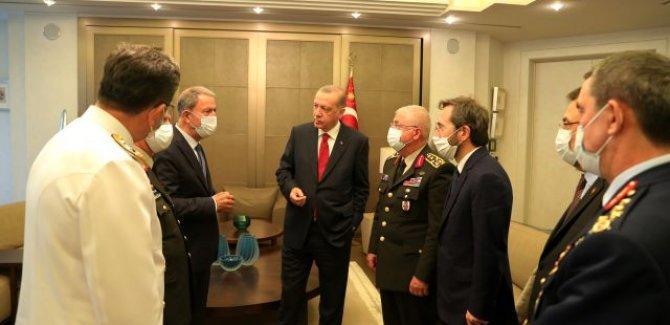 Erdoğan başkanlığında Güvenlik Toplantısı gerçekleştirildi