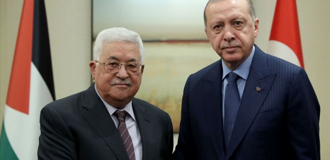 Cumhurbaşkanı Erdoğan:Türkiye, Filistin'e her alanda destek olmayı sürdürecek