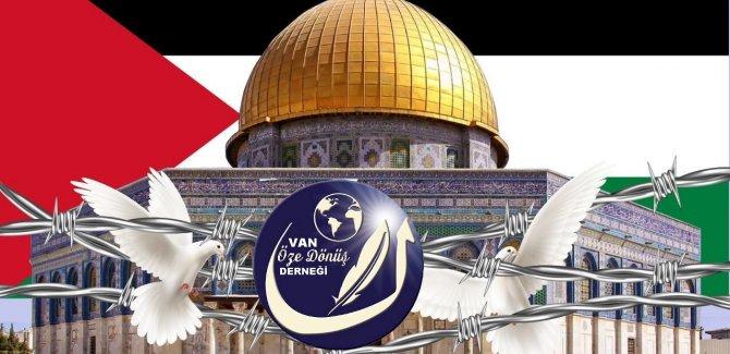 Van Öze Dönüş: Kudüs'ü savunmak insani, vicdani ve şer'i bir zorunluluktur