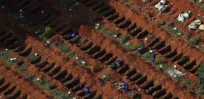 Brezilya'da son 24 saatte 1001 kişi hayatını kaybetti