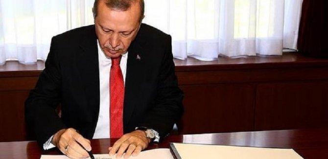Cumhurbaşkanı Erdoğan'dan yeni görevden alma ve atama kararları