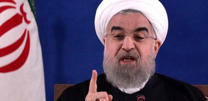 Ruhani'den ABD'nin müdahale ihtimaline karşı uyarı
