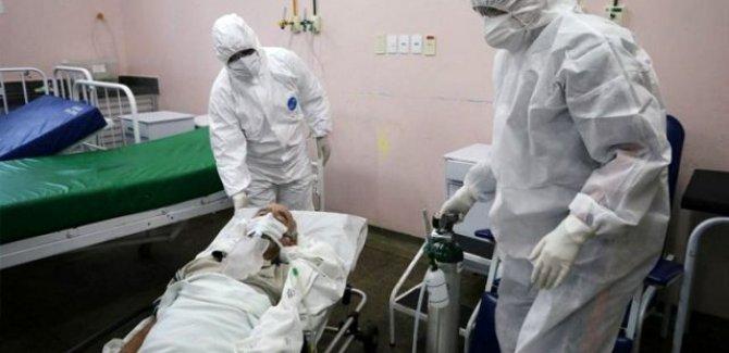 Brezilya'da son 24 saatte 1262 kişi hayatını kaybetti