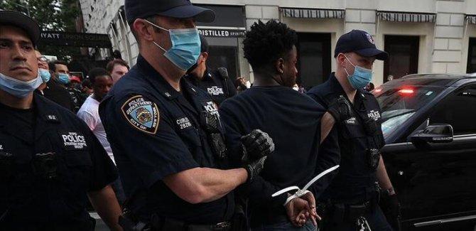 ABD'deki protestolarda gözaltı sayısı 10 bini geçti