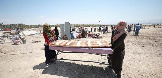 Ürdün Vadisi'nde yaşayan Filistinliler İsrail ilhakına direniyor
