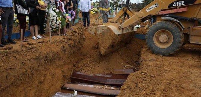 Brezilya'da Covid-19 kaynaklı can kaybı 37 bin 312'ye yükseldi