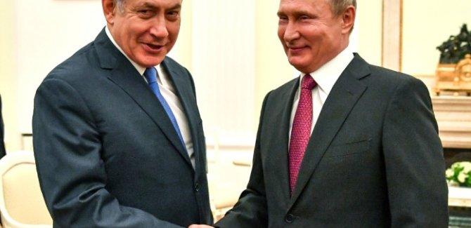 Netanyahu: Filistin devleti kurulması kararını Putin önledi