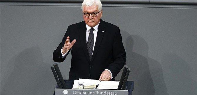 Almanya Cumhurbaşkanı Steinmeier: Almanya'da da ırkçılık öldürüyor