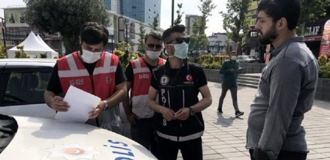 İstanbul'da maskesiz dolaşmanın bedeli 900 TL