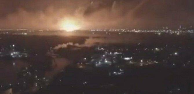 Tahran'da patlama: 'Askeri üste meydana geldi'