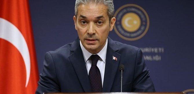 Dışişlerinden ABD'nin Ayasofya açıklamasına tepki
