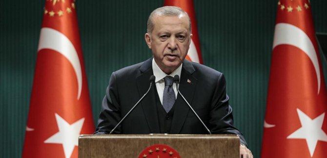 Erdoğan: Ayasofya kiliseden değil müzeden camiye dönüştürüldü