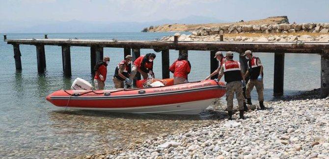 Van Gölü'nden çıkarılan ceset sayısı 34'e yükseldi