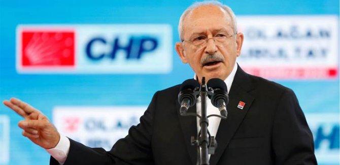 CHP'de tek aday Kılıçdaroğlu
