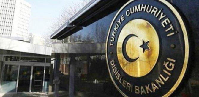 Dışişleri'nden DSG ile ABD'nin Petrol Anlaşmasına Tepki