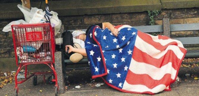 ABD Halkının Yarısı Gelirini Kaybetti