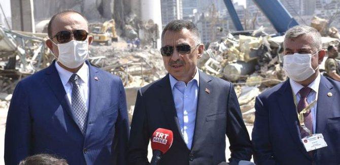 Türkiye: Beyrut limanının inşasına hazırız