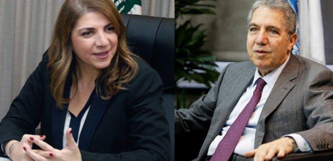 Lübnan'da iki bakan daha istifa etti