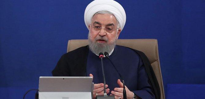 Ruhani'den 'Yeniden seçilirsem İran'la anlaşma yapacağım' diyen Trump'a yanıt