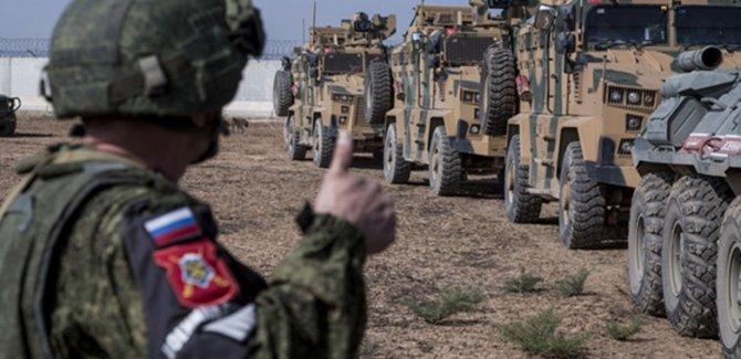 Rusya-Türkiye ortak devriyeleri askıya alındı