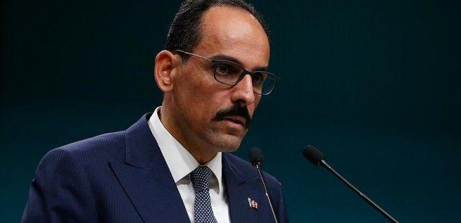 Kalın'dan 'İsrail-BAE anlaşması'na tepki
